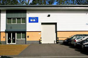 The BiB showroom and distribution centre