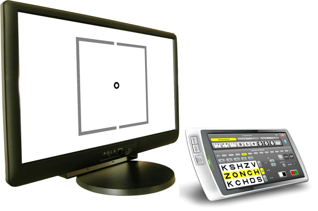 Pola Vista Vision With Tablet Controller