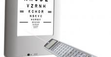 Nidek SC 2000 LCD Chart
